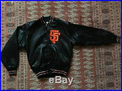 Mint VINTAGE NEW NOS 1980s SF Giants Felco Satin Jacket Authentic MLB starter