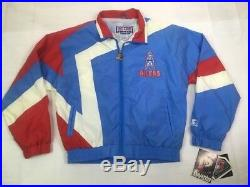 NOS Vintage Starter Houston Oilers Jacket Youth M NWT Pro Line RARE