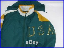 New NWT RARE Vintage 1996 Atlanta Olympic Collection Starter Hooded Jacket XL
