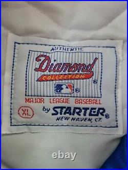 RARE Vintage DEADSTOCK NWT NEW YORK METS STARTER JACKET XL DIAMOND COLLECTION