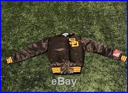 Rare VTG 80s SAN DIEGO PADRES Starter Satin Jacket Small with Tags