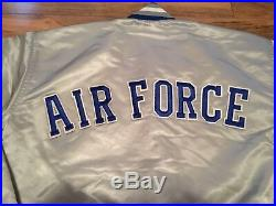 Rare Vintage Air Force Falcons Starter Satin Jacket Size XL USA Made