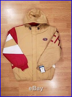 San Francisco 49ers Starter Jacket 90s Vintage Style Mens Size Med New with Tags