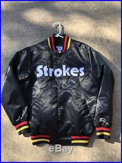 The Strokes Limited Edition Future Present Past Starter Jacket Rare Rock Vtg