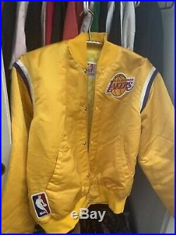 VTG NBA Los Angeles Lakers Starter Jacket 90's Throwback Size Small