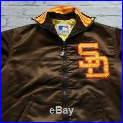 Vintage 80s San Diego Padres Satin Jacket by Starter Rare