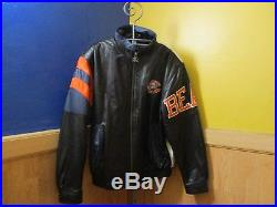 Vintage Chicago Bears Starter Leather Jacket In Excellent Condition