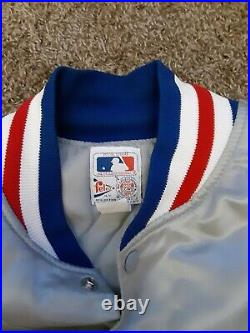 Vintage Chicago Cubs Starter Style jacket. Felco XXL very rare