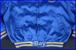 Vintage Golden State Warriors Satin Jacket by Swingster XL Made in USA Starter
