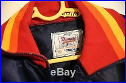 Vintage Houston Astros Starter Jacket Size Large Made In New Haven Ct