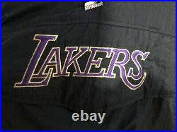 Vintage Lakers Starter Jacket. Size large. In Great Condition. Measures 26 Long