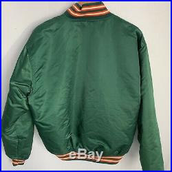 Vintage Miami Hurricanes 80's 90's 1st Edition STARTER Satin Jacket 2 Live Crew