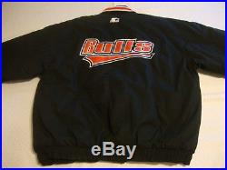 Vintage STARTER Chicago BULLS Black Carhartt Style Jacket XL jersey NWT Rare