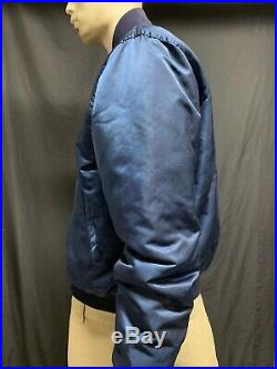 Vintage San Diego Padres Satin Jacket Size L Large By Starter See photos