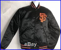 Vintage San Francisco Giants SF Satin Starter Jacket Medium (clst)