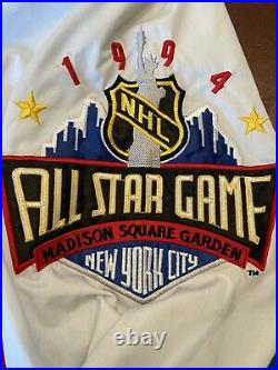 Vintage Starter 1994 NHL All Star Game Madison Square Garden Jacket Liberty NYC