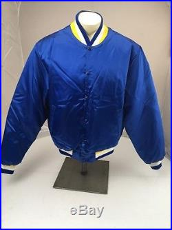 Vtg Swingster Mens SD Or LA Chargers NFL Satin Jacket XL USA Made Football